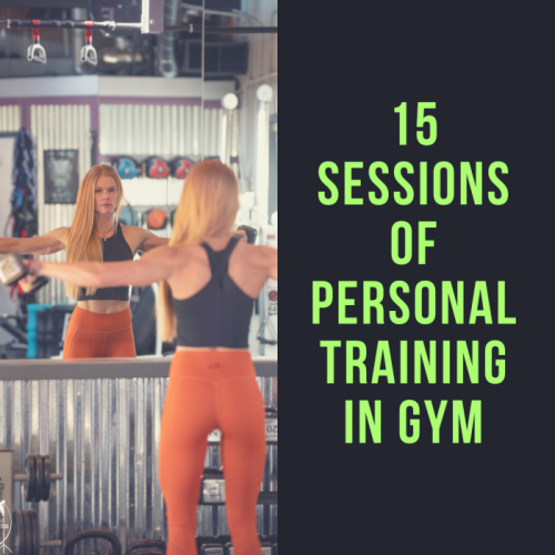 15 Sessions of Personal Training In Gym