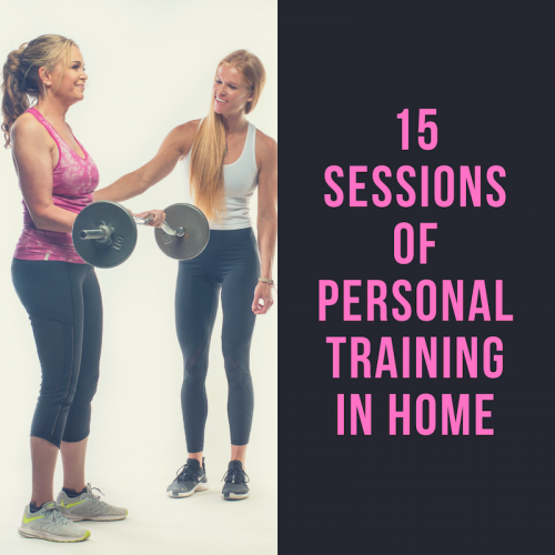 15 Sessions of Personal Training In Home