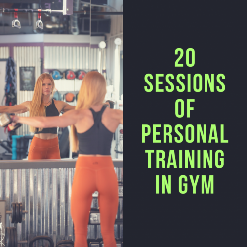 20 Sessions of Personal Training In Gym