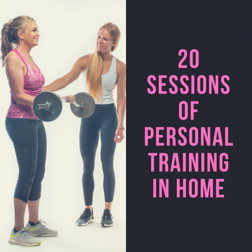20 Sessions of Personal Training In Home
