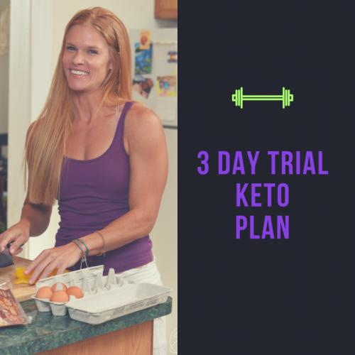 3 Day Trial Keto Plan