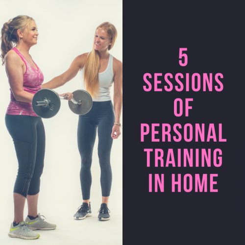 5 Sessions of Personal Training In Home